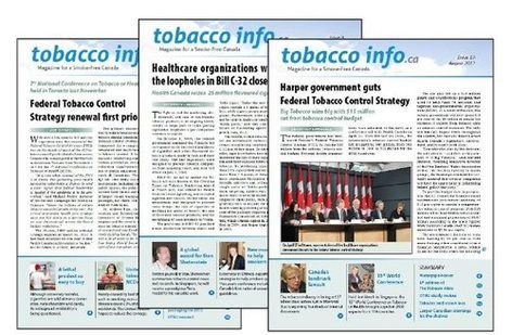 Tobacco Info No. 8, 9 and 10